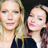 Gwyneth Paltrow und Apple  Dieses schöne Selfie postet Gwyneth Paltrow anlässlich des Mutter-Tochter-Tages. Die Fans sind begeistert und sich einig: Die junge Apple kommt ganz nach ihrer Mama.