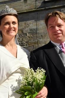 Anna Theresa von und zu Arco-Zinneberg undColin McKenzie