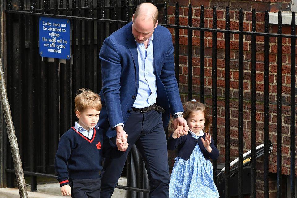 Prinz George, Prinz William + Prinzessin Charlotte
