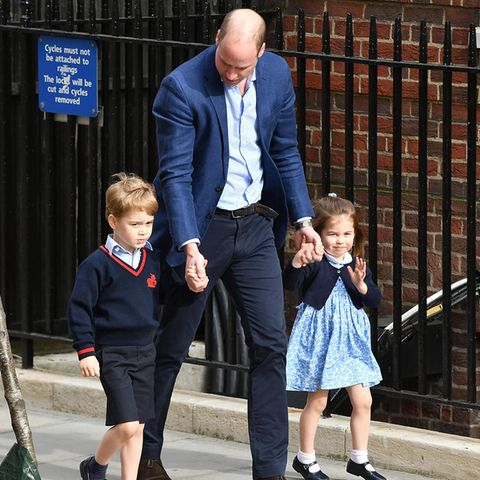 Prinz George, Prinz William + Prinzessin Charlotte