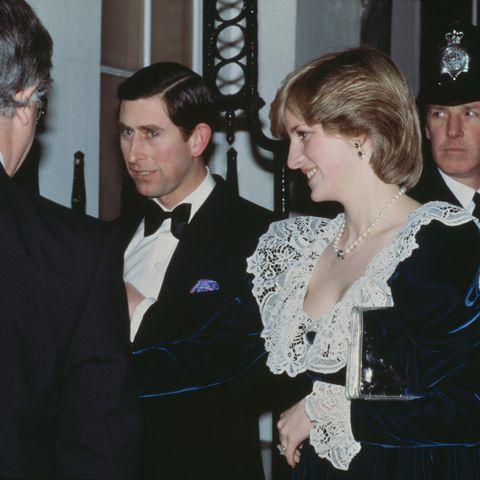 Prinzessin Diana und Prinz Charles 1982