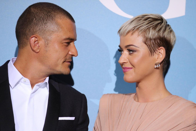Orlando Bloom + Katy Perry denken an Hochzeit
