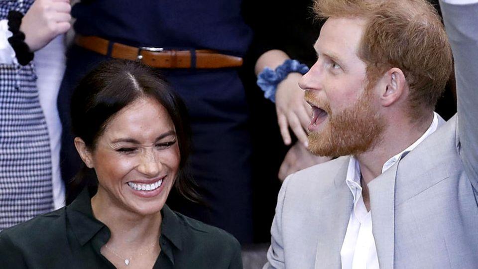 Prinz Harry und Herzogin Meghan besuchen Sussex