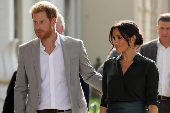 Prinz Harry und Herzogin Meghan nahmen am 2. Oktober einen Besuch in Sussex wahr