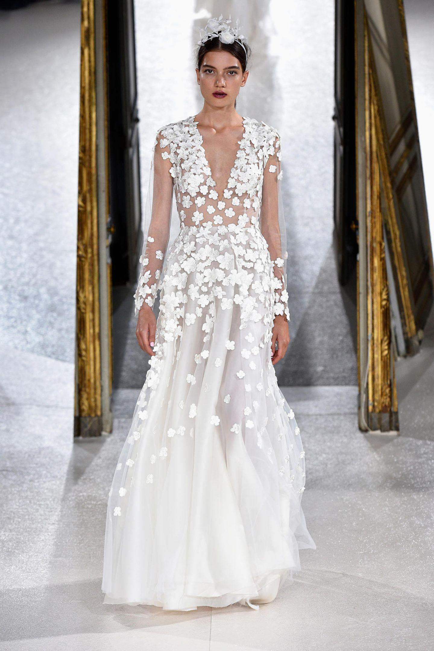 Brautkleider 17: Diese Trends sind ein wahrer Traum  GALA.de