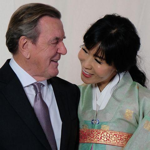 Gerhard Schröder + Soyeon Kim