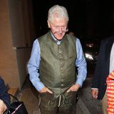Lederhosen-Bill: Das klassische Wiesn-Outfit kann er gut tragen, der Ex-Präsident!