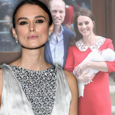 Keira Knightley, Prinz William + Herzogin Catherine