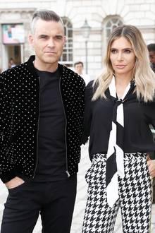 Robbie Williams und Ehefrau Ayda Field sind seit September 2018Eltern dreier Kinder