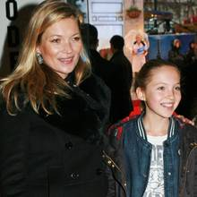 Kate Moss + Lila Grace in 2014