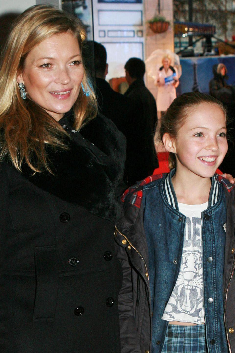 Kate Moss + Lila Grace in 2014