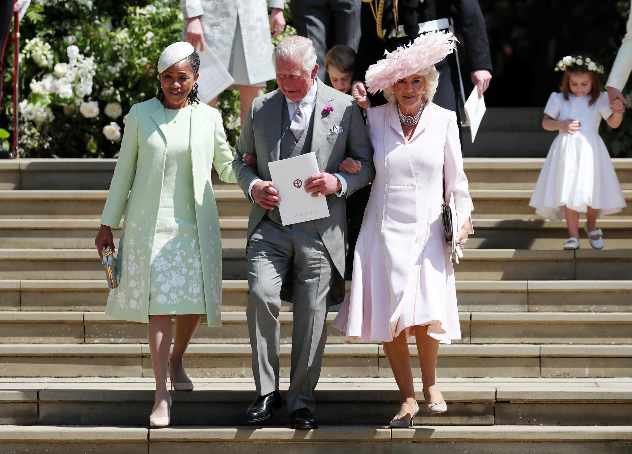 Prinz Charles und Camilla an der Hochzeit von Prinz Harry und Herzogin Meghan