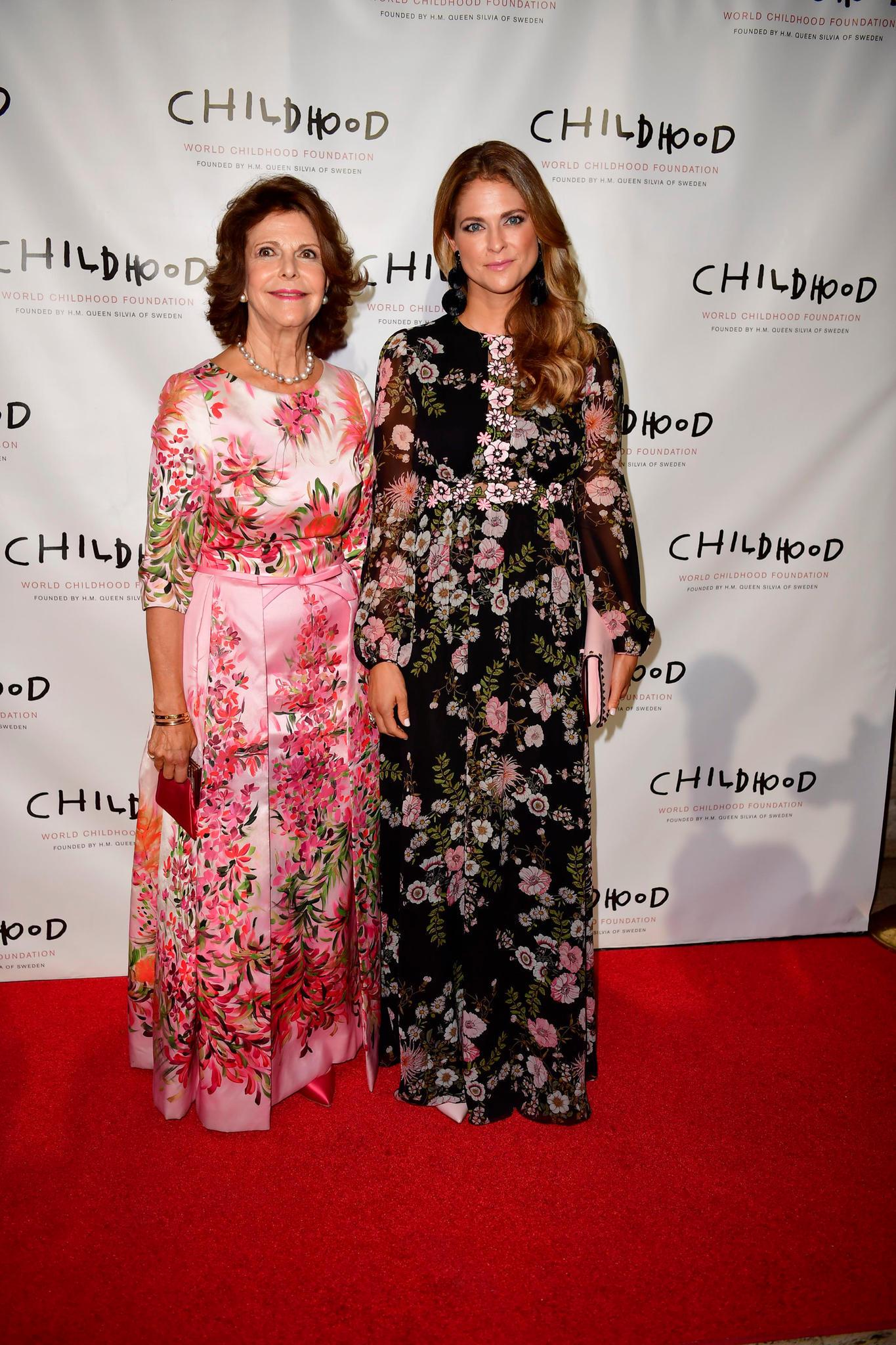 Mutter und Tochter gemeinsam in New York: Königin Silvia von Schweden und Prinzessin Madeleine