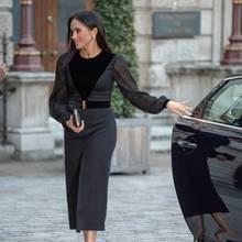 Herzogin Meghan bricht das Protokoll und schließt eigenständig die Autotür