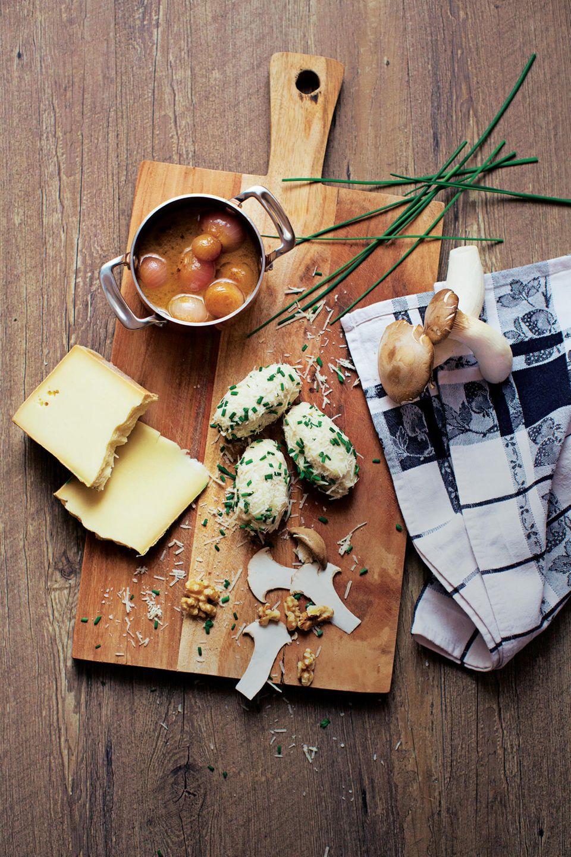 Südtiroler Kartoffelnocken mit Steinpilz