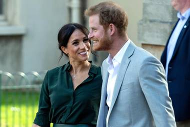 Herzogin Meghan und Prinz Harry - schon ihr erstes Date war ein voller Erfolg