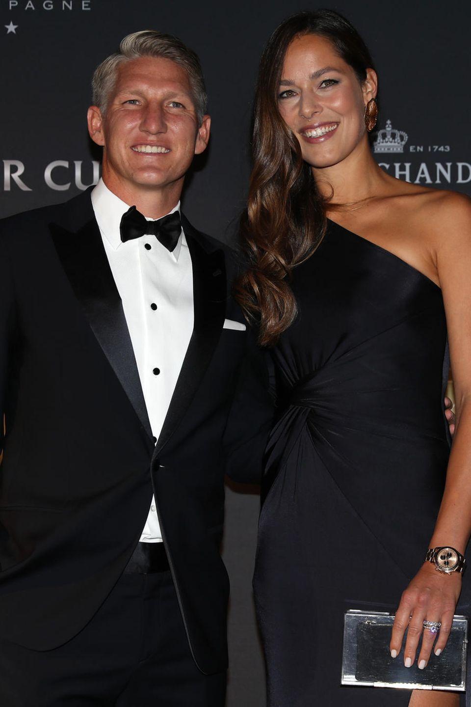 Bastian Schweinsteiger und Ana Ivanović