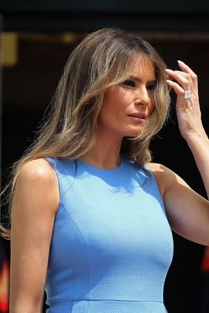 Melania Trump hält sich mit gesunder Ernährung und Sport fit