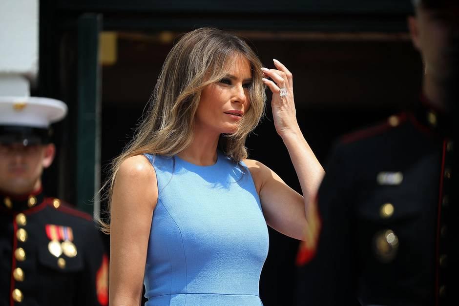 Melania Trump hält sich für den am meisten gemobbten Menschen der Welt