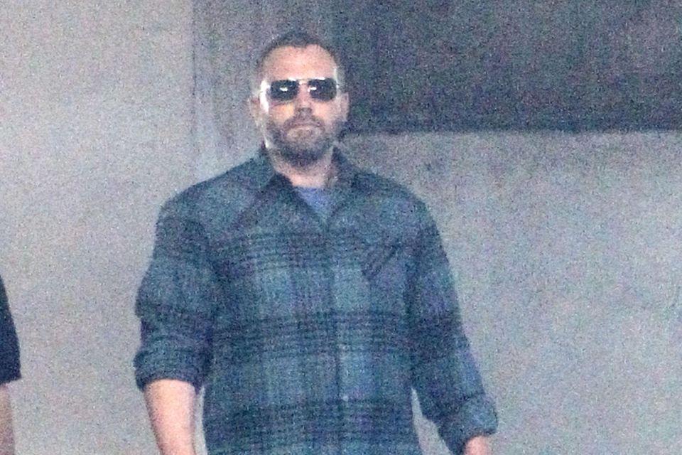 Ben Affleck mit ernster Miene in Los Angeles