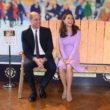 Prinz William und Herzogin Catherine haben sichtlich den gleichen Humor