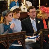 19. Mai 2018  Gemeinsam mit Prinzessin Beatrice ist das Paar natürlich auch unter den Gästen der Hochzeit von Prinz Harry und Herzogin Meghan in der St. George's Kapelle. Dort geben sie sich am 12. Oktober selbst das Jawort.