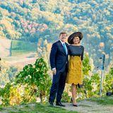 10. Oktober 2018  Auf einem Weinberg im schönenRheinland-Pfalz entstehen romantische Bilder des Königlichen Ehepaares ...