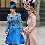 Die Bilder der Hochzeit von Prinz William und Herzogin Catherine gingen 2011 um die ganze Welt. So auch das Foto von Prinzessin Eugenie und Prinzessin Beatrice, welches ihnen einige Vergleiche mit den bösen Stiefschwestern von Schneewittchen einbrachte.