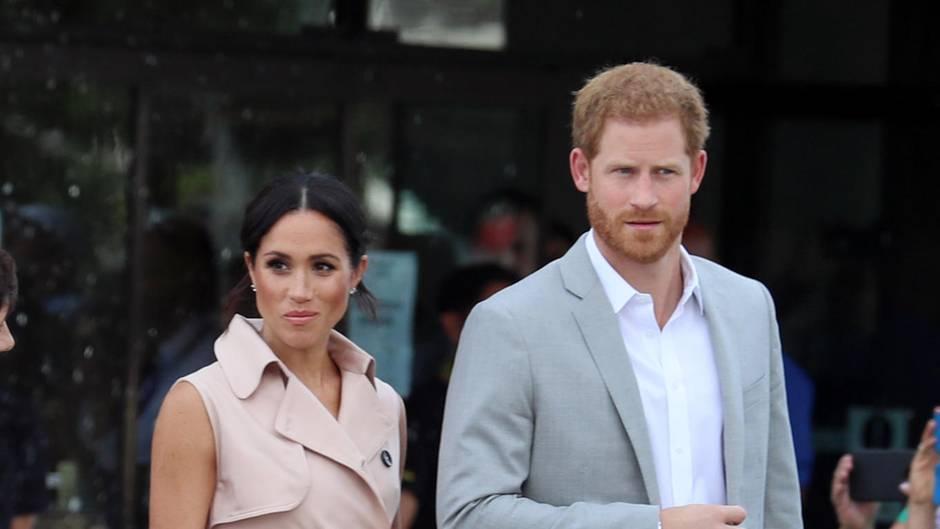 Herzogin Meghan und Prinz Harry gehen auf Reisen