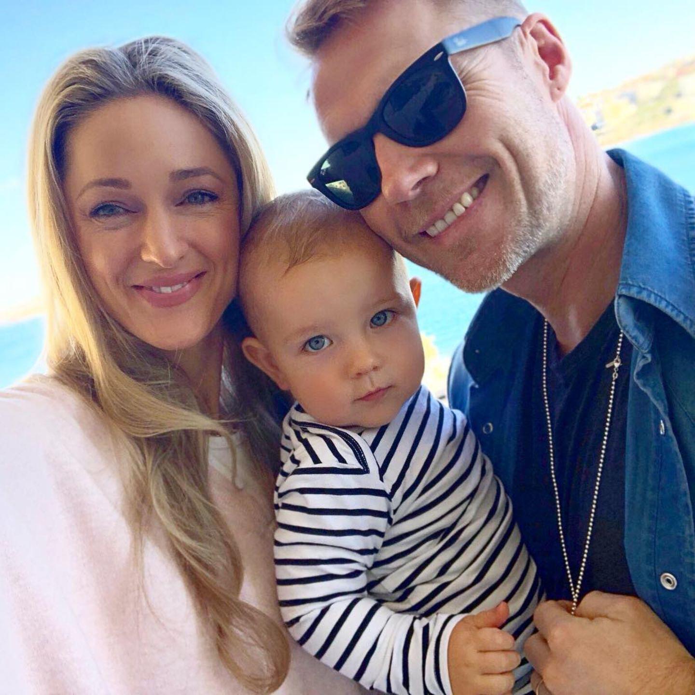 17. Juni 2018  Ein happy Family-Portrait der kleinen Familie aus Australien.