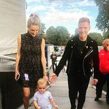 9. September 2018  Papa Ronan Keating hat einen Auftritt. Natürlich sind Storm und der kleine Cooper dabei den Papa zu unterstützen.