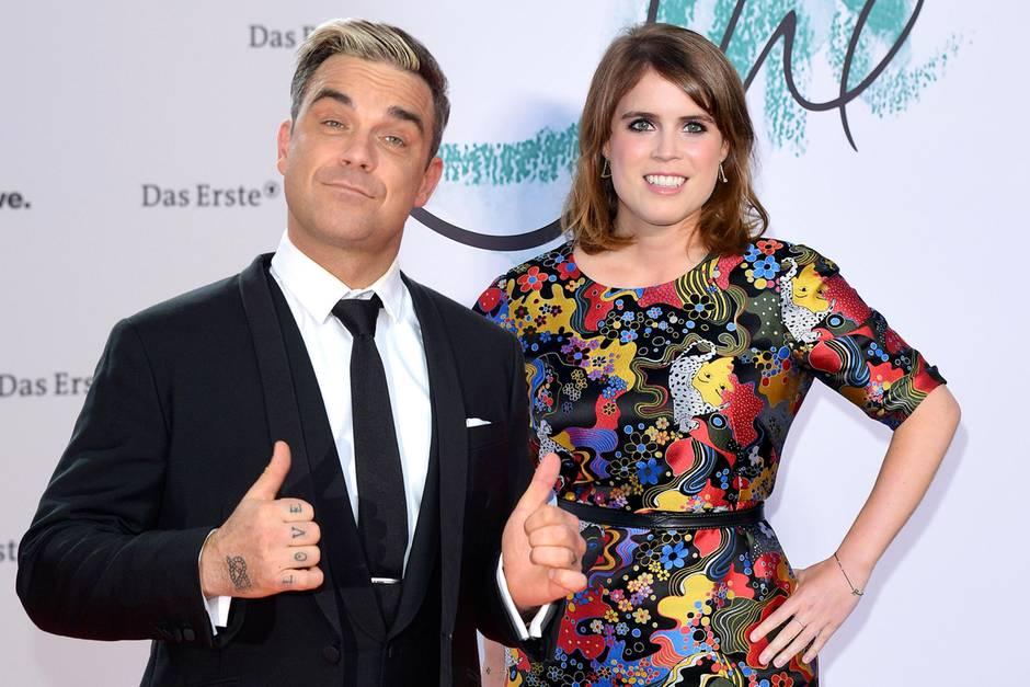Robbie Williams und Prinzessin Eugenie verbindet eine jahrelange Freundschaft