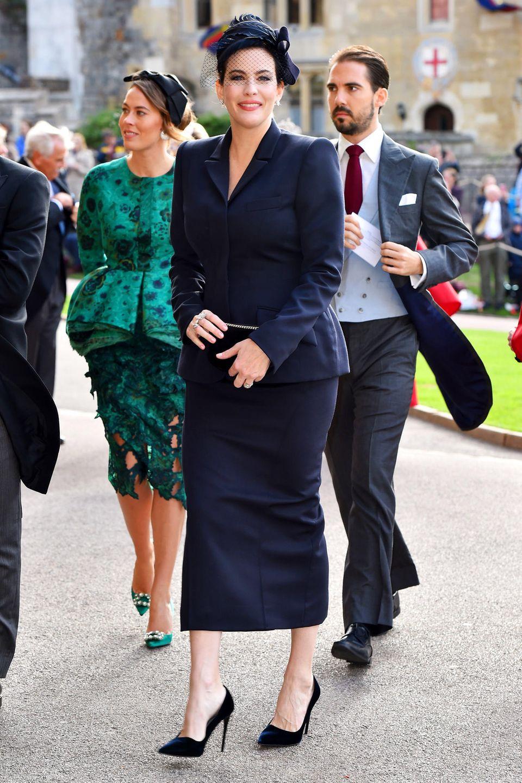 Auch Schauspielerin Liv Tyler gehört bei der Royal Wedding zu den prominenten Gästen.