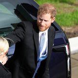 Die St. George's Chapel kennt Prinz Harry von seiner Hochzeit mit Meghan im Mai noch sehr gut.