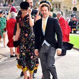Schmusesänger James Blunt ist ein enger Freund von Eugenies Cousin Prinz Harry. Schon bei dessen Hochzeit war der Musiker Gast.
