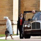 Queen Elizabeth und Prinz Philip dürfen selbstverständlich auch nicht fehlen.