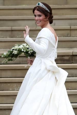 Prinzessin Eugenie am Tag ihrer Hochzeit