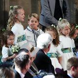 Prinz George gehört wie seine kleine Schwester Charlotte auch wieder zu den Blumenkindern