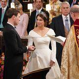 """""""Yes, I will""""  Prinzessin Eugenie und Jack Brooksbank haben sich das gegenseitige Ja-Wort gegeben."""