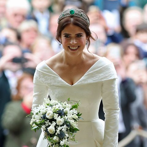 So schön strahlt die Braut!