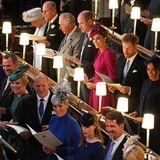 Ebenso schön strahlt die gesamte Royal Family mit Catherine, William, Harry, Meghan und Co.