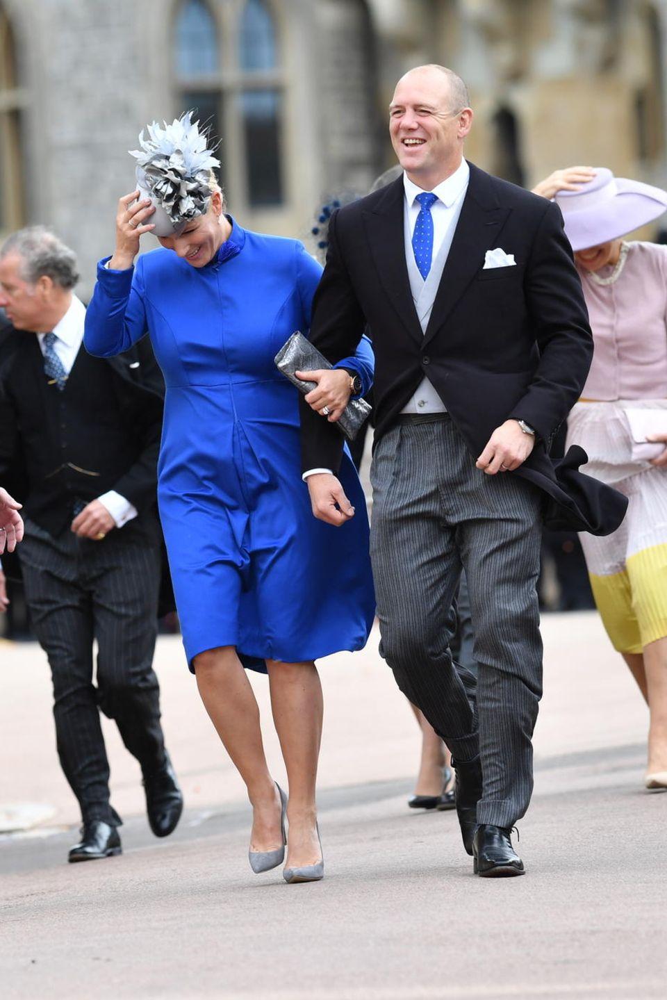 Zara Tindall und ihr Mann Mike haben alles im Griff.