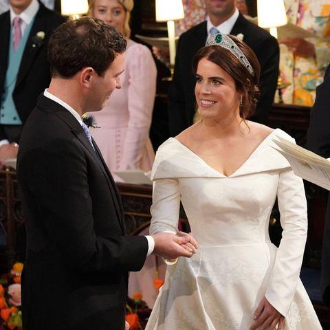 Glück für Prinzessin Eugenie, dass Jack Brooksbank rechtzeitig zum Ja-Wort seine Sprache wiederfand