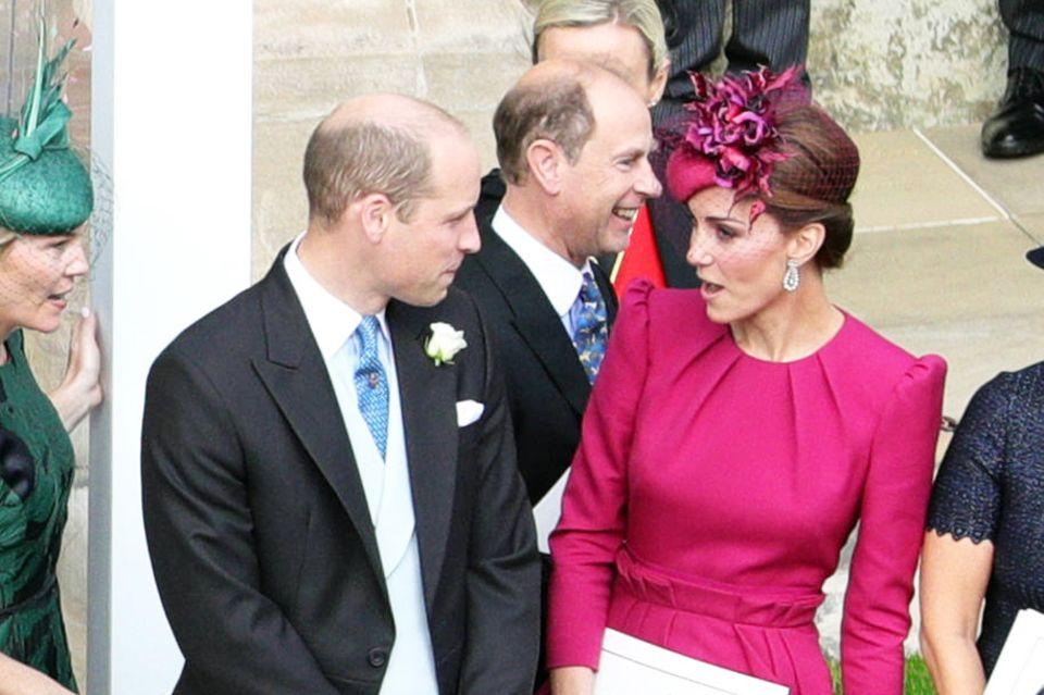 Ein von Kopf bis Fuß gelungener Hingucker-Wedding-Look.
