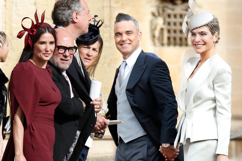 Prominente Gäste bei der royal Wedding auf Schloss Windsor