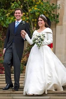 """Jack Brooksbank und Prinzessin Eugenie sagten am 12. Oktober 2018 """"ja"""""""