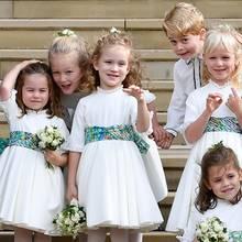 Prinzessin Charlotte, Prinz George,Theodora Field, Maud Windsor und viele weitere Blumenkinder