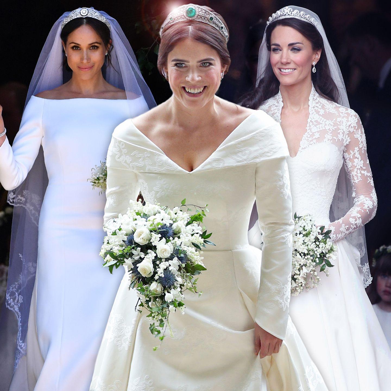 Royals: Kate, Meghan & Co.- Wer hat das schönste Brautkleid?  GALA.de