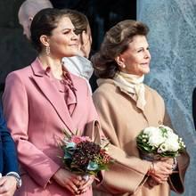 Prinzessin Victoria + Königin Silvia