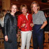 Veronika Rost (Estée Lauder), Nicole Nitschke (Shiseido) und Julia Jäkel (CEO Gruner + Jahr)